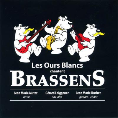 La couverture du CD des Ours blancs