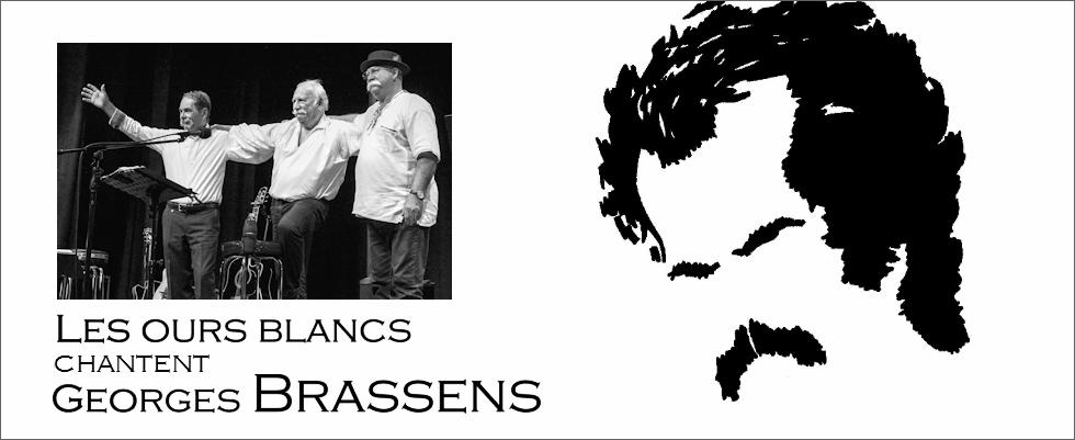 Les ours blancs chantent Georges Brassens
