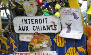 Interdit aux chiants